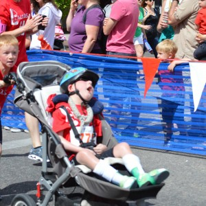 8-Year-Old Makes Sure Brother With Disabilities Completes Triathlon
