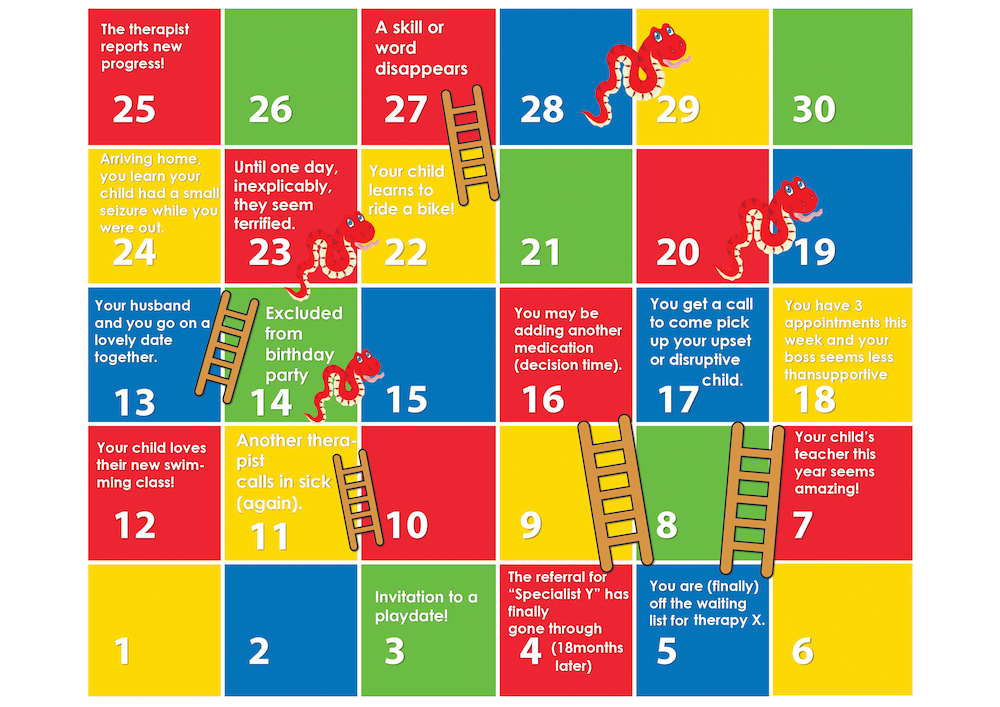 How to Win at Autism 'Snakes and Ladders' | The Mighty