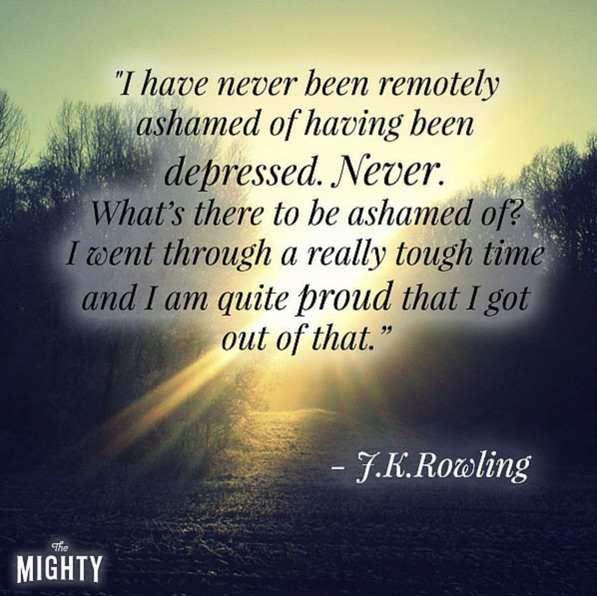 81 Depression Quotes To Help In Difficult Times: 5 Times J.K. Rowling Got Real About Depression