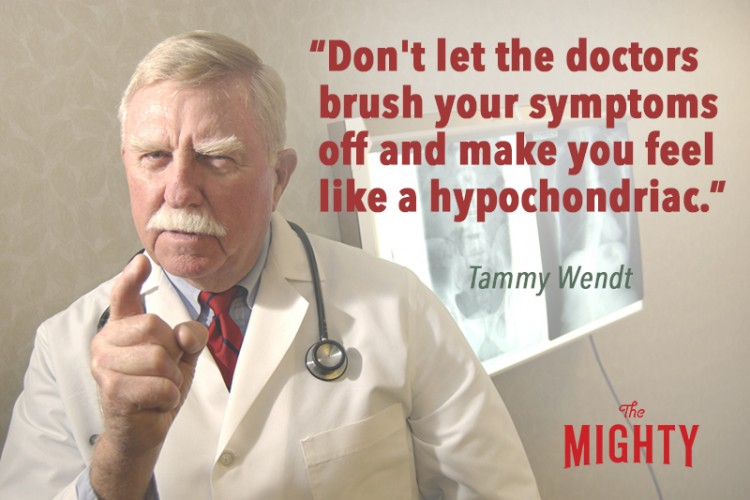 Doctor scolding