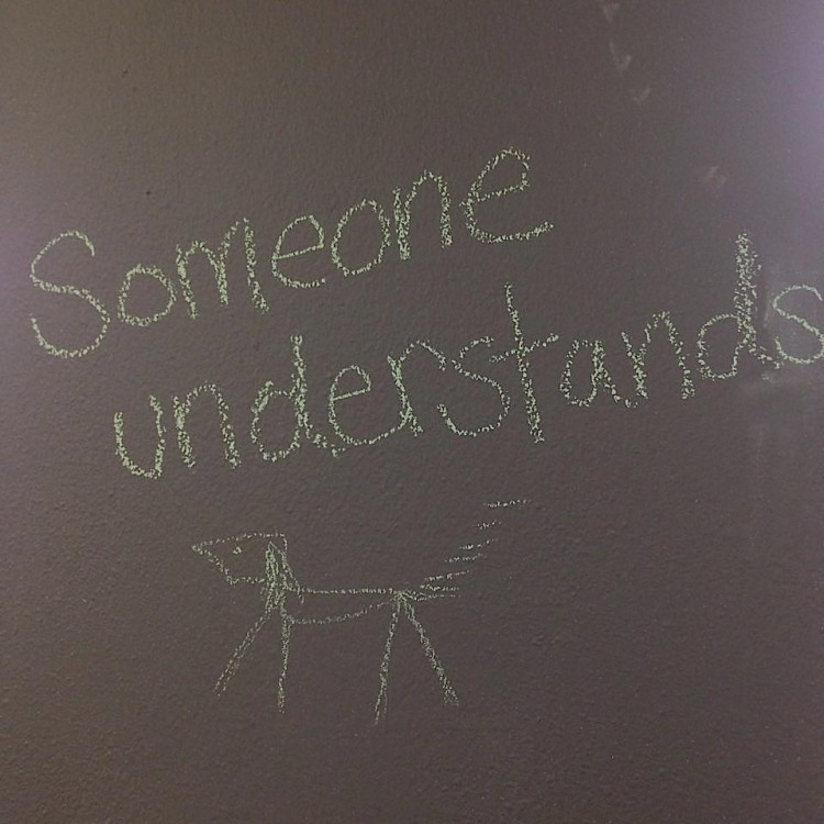 """""""Someone understands."""""""