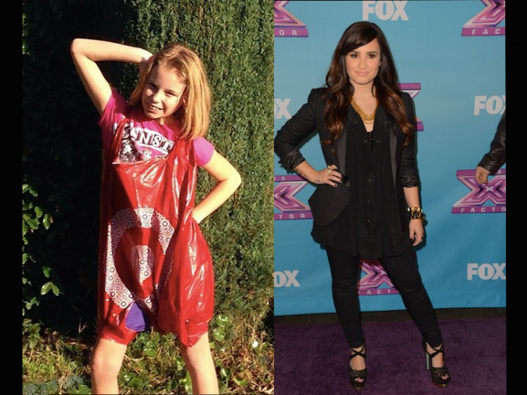 Cate's daughter is shown posing similarly to Demi Lovato.