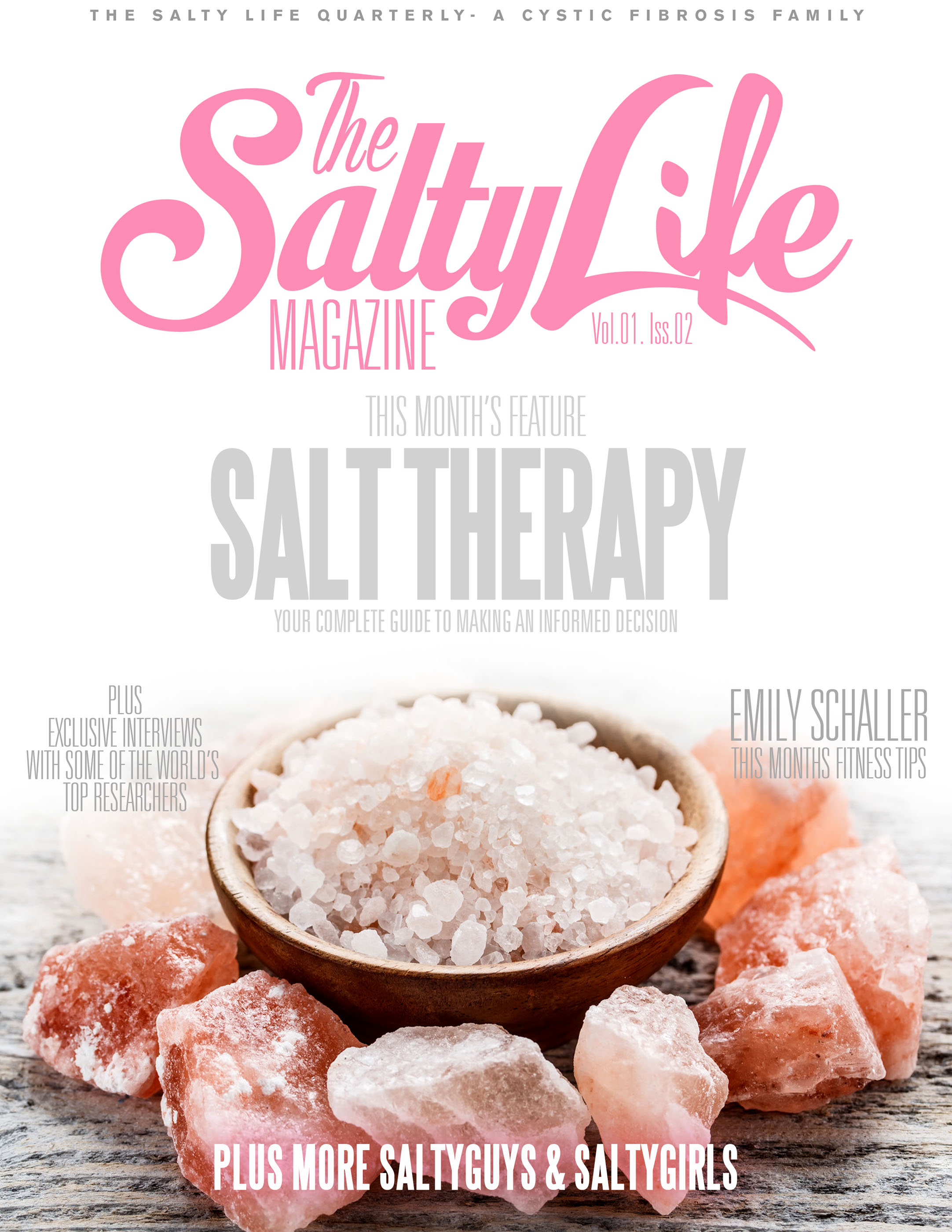 Salt Lamps For Cystic Fibrosis : Cystic Fibrosis Magazine From Ian Pettigrew Is Called The SaltyLife The Mighty