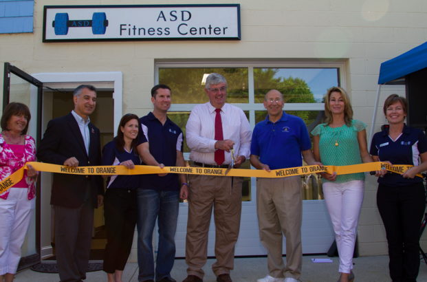 Organizers cut ribbon on opening day of ASD Fitness Center