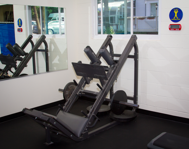 lower body station at ASD Fitness Center
