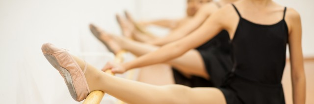 Group of girls in dance class