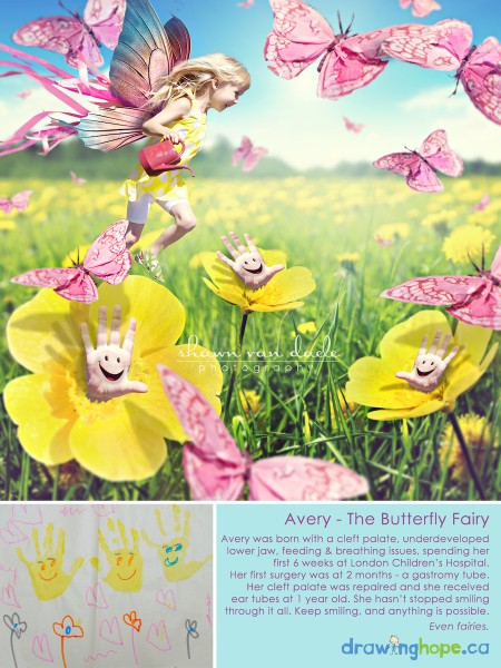 avery, the butterfly fairy