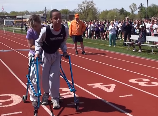 Meet Your Coach: Teen With Cerebral Palsy Brings Coach To Tears At High