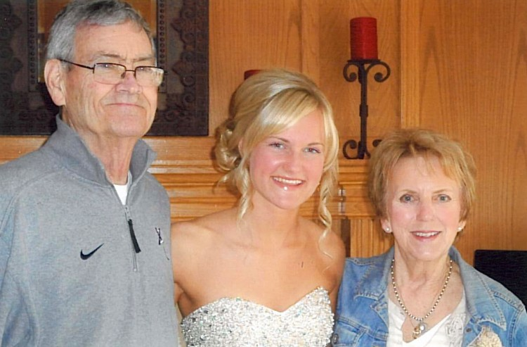 Hannah Chute and Grandparents
