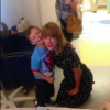 Taylor Swift and a little boy