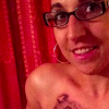 Marine Barbie Ritzco posts selfie with tattoo after mastectomy
