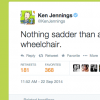 screenshot of Ken Jennings' tweet