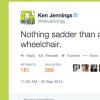 screenshot of Ken Jennings' tweet
