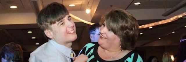 author's wife Becky and their son Jon Alex