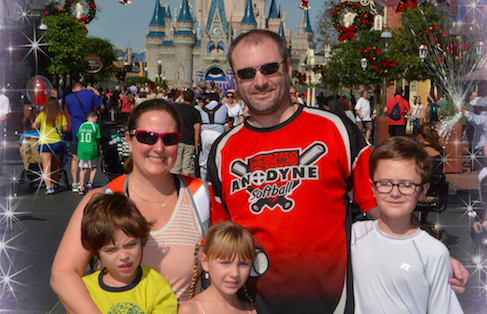Family at Disney Land