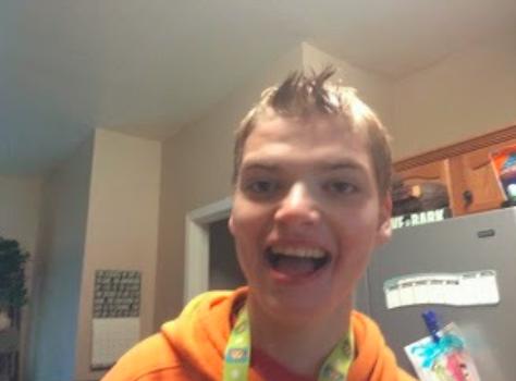 teen smiling