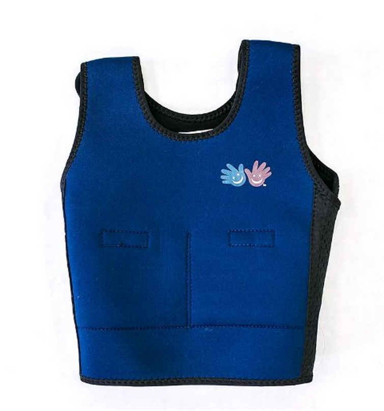 Pressure vest for kids vest with 13 pockets