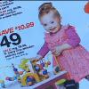 Izzy Bradley in Target ad