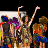 winnie chantelle on the runway at 2015 new york fashion week