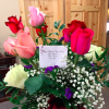 bouquet of flowers sent to woman for valentine's day