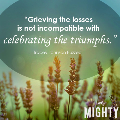 Grieving the losses is not incompatible with celebrating the triumphs.