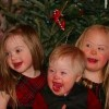 3 children with down syndrome