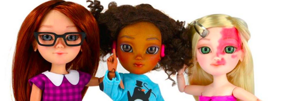 Makies dolls with disabilities