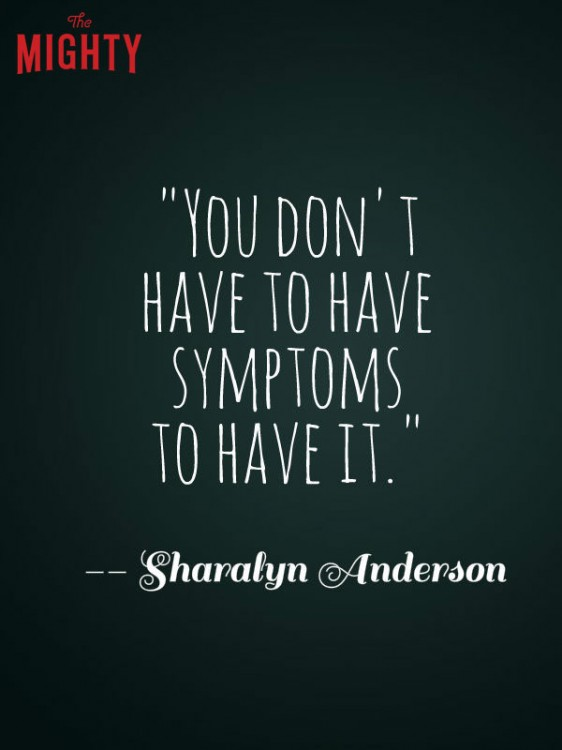 celiac disease meme: You don't have to have symptoms to have it.