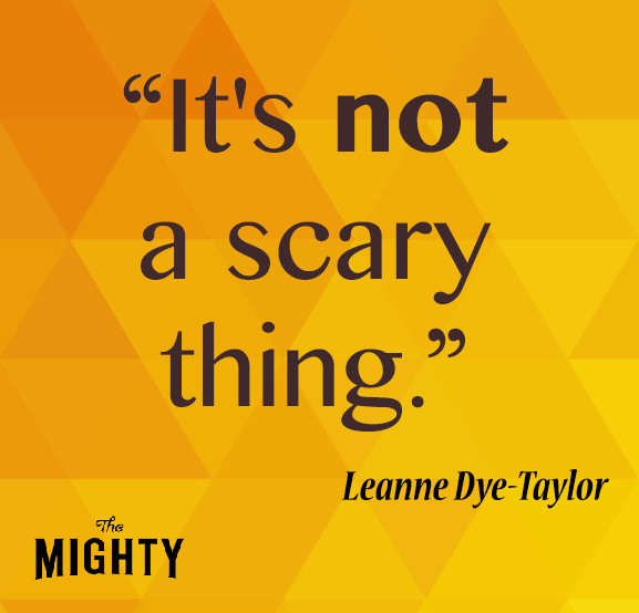 It's not a scary thing.