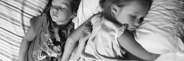 Betty's daughters sleeping