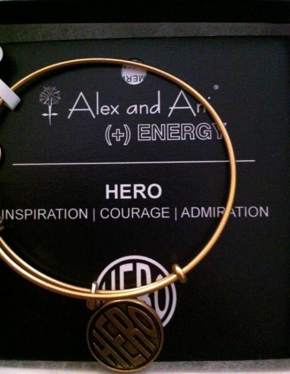 hero bracelet gift for a teacher