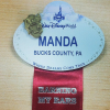 award ribbon from Disney World