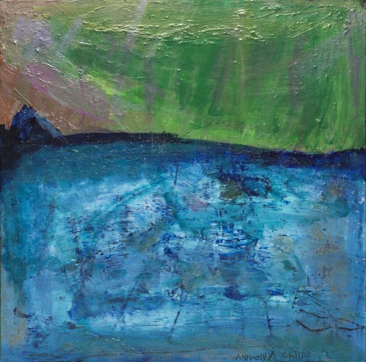 Aurora Freeze, acrylic painting by Anthony Childs