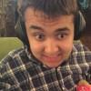 teenage boy wearing headphones