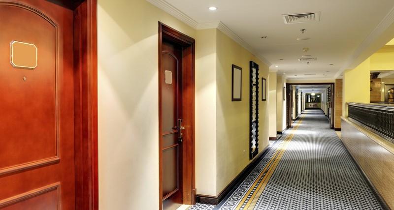 photo of hotel hallway