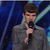 comedian with autism on stage