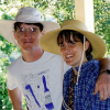 The author and her brother Jeff, who died by suicide.
