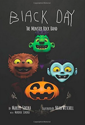 Black Day: The Monster Rock Band book cover