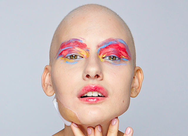 Model's Stunning Photos After Losing Jaw to Cancer Reflect