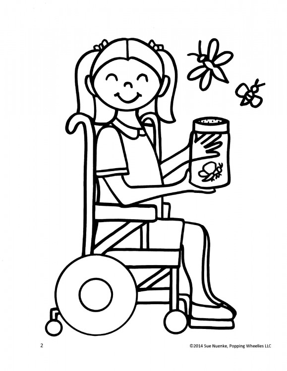 This Mom Created Coloring Books That Feature Kids With Disabilities ...