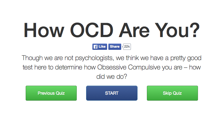 quiz asking how ocd are you?
