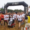 rob camm at starting line of tough mudder challenge