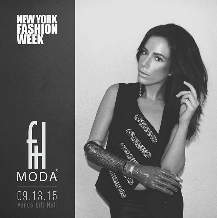 FTL Moda ad for 2015 New York Fashion Week