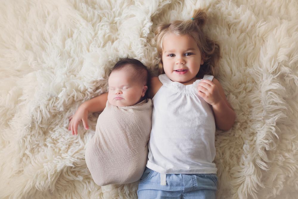 Erika and Stephen Jones' daughters