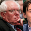 A collage of Bernie Sanders next to Turning Pharmaceuticals CEO Martin Shkreli