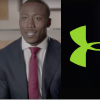 nfl player brandon marshall and under armour logo