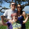 husband, wife, and his sister with down syndrome