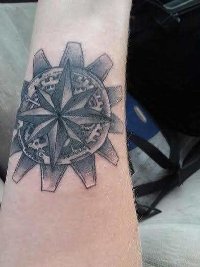 Tattoo on forearm