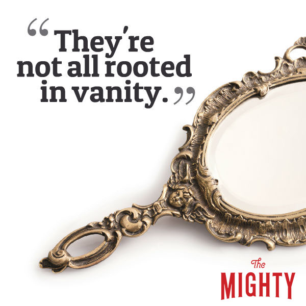 eating disorder quote: They're not all rooted in vanity.
