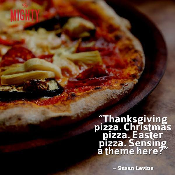"pizza meme: ""thanksgiving pizza. christmas pizza. easter pizza. sensing a theme here?""pizza meme: ""thanksgiving pizza. christmas pizza. easter pizza. sensing a theme here?"""